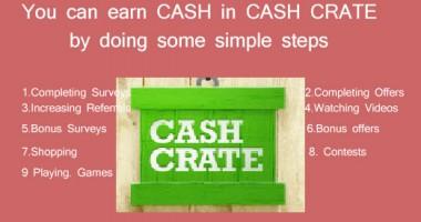 Cashcrate से पैसे कैसे कमाएँ |