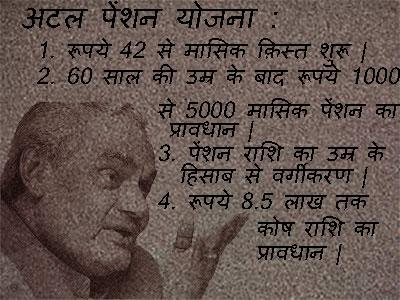 Atal Pension Yojana (APY) In Hindi. अटल पेंशन योजना की जानकारी।