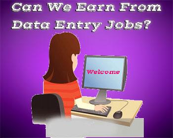 क्या वास्तव में Data Entry Jobs से कमाई की जा सकती है?