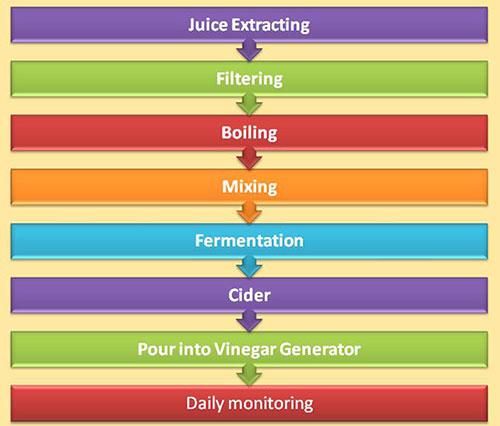Vinegar Manufacturing process