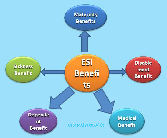 ESI Act Rules And Benefits In Hindi.