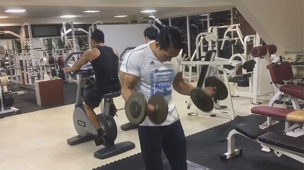 gym business or fitness center