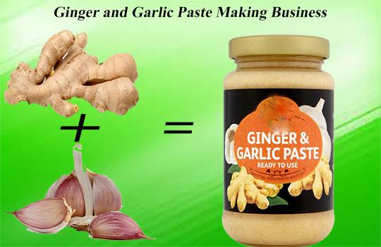 Ginger and Garlic Paste Making Business