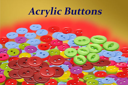 Acrylic Buttons Making Business