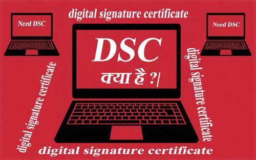 Digital Signature Certificate के लिए ऑनलाइन अप्लाई कैसे करें |
