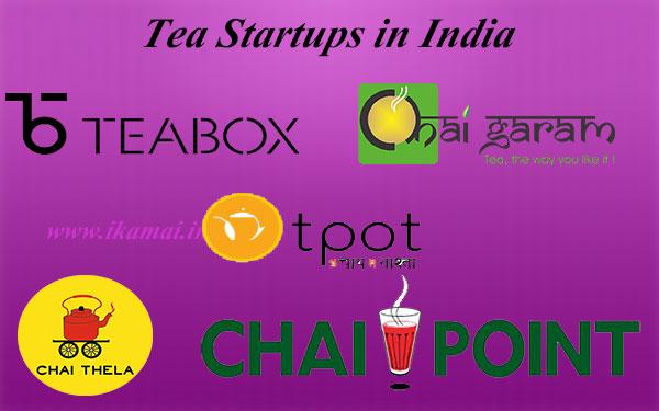 Tea Startups in India. भारत के दस प्रमुख चाय स्टार्टअप ।
