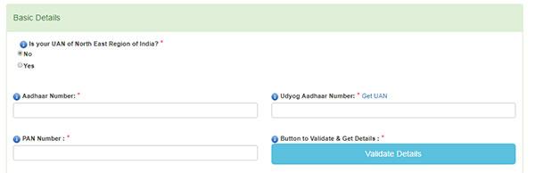 online registration step 3