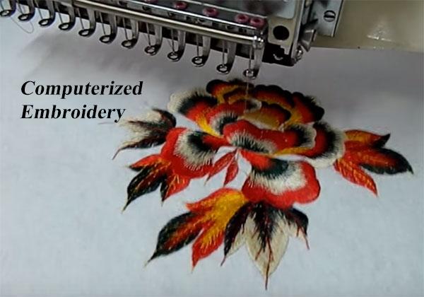 Computerized Embroidery बिज़नेस की जानकारी.