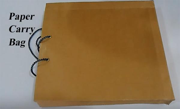 पेपर बैग बनाने के बिजनेस की जानकारी. Paper Carry Bag Business.