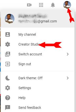 Create youtube Chanel step 3