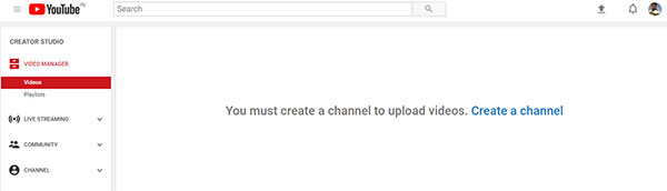 Create youtube Chanel step4