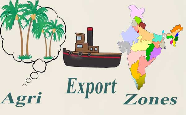 Agri Export Zones की अवधारणा, फायदे एवं सम्पूर्ण लिस्ट.