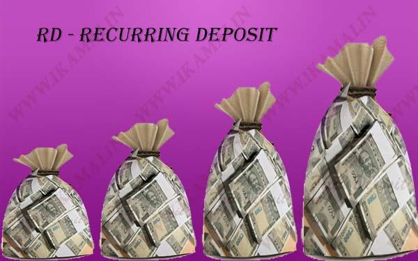Recurring Deposit क्या है? इसकी विशेषताएं फायदे नियम एवं खोलने की प्रक्रिया.