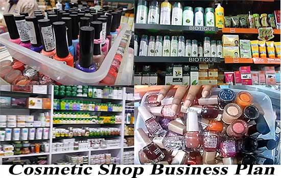 Cosmetic Shop Business Plan in Hindi. कॉस्मेटिक की दुकान कैसे खोलें।