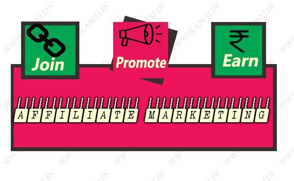 एफिलिएट मार्केटिंग क्या है कैसे शुरू करें। Affiliate Marketing Information in Hindi.
