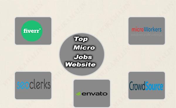 ऑनलाइन कमाई करने के लिए कुछ  बेहतरीन माइक्रो जॉब वेबसाइट.