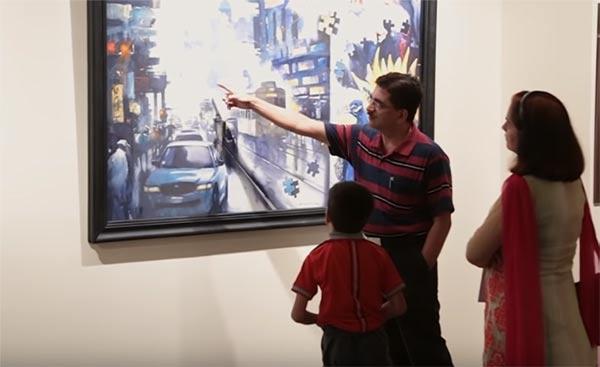 art gallery business