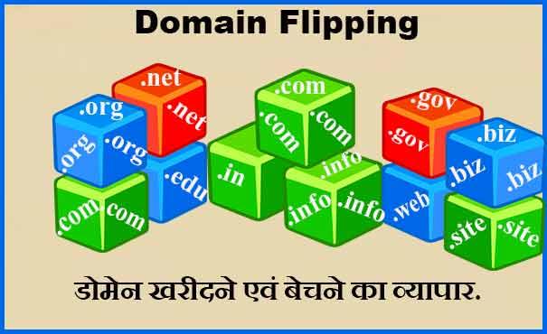 Domain Flipping डोमेन खरीदने एवं बेचने का बिजनेस कैसे शुरू करें?