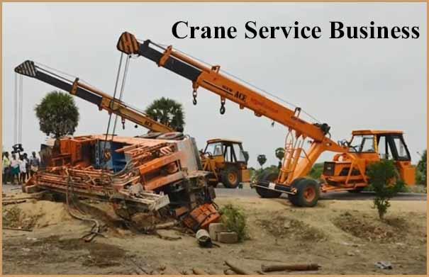 Crane Service Business kaise start kare