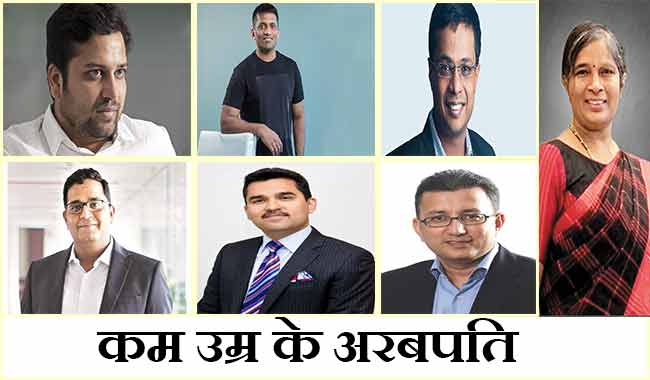 List of Youngest billionaires in India