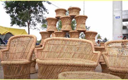 बाँस का फर्नीचर बनाने का व्यापार। Bamboo Furniture Business Plan in Hindi.