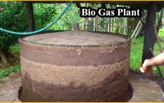 बायोगैस प्लांट स्थापित करने की जानकारी। Biogas Plant Information in Hindi.