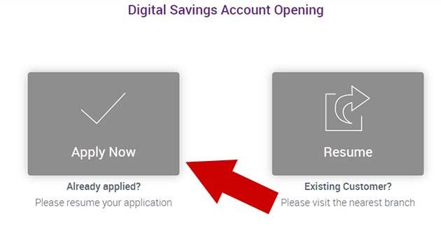 SBI Bank Account opening image 1